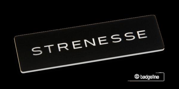 Logo-Sticker Materia-1 | Sticker 70x20 mm Flaeche schwarz